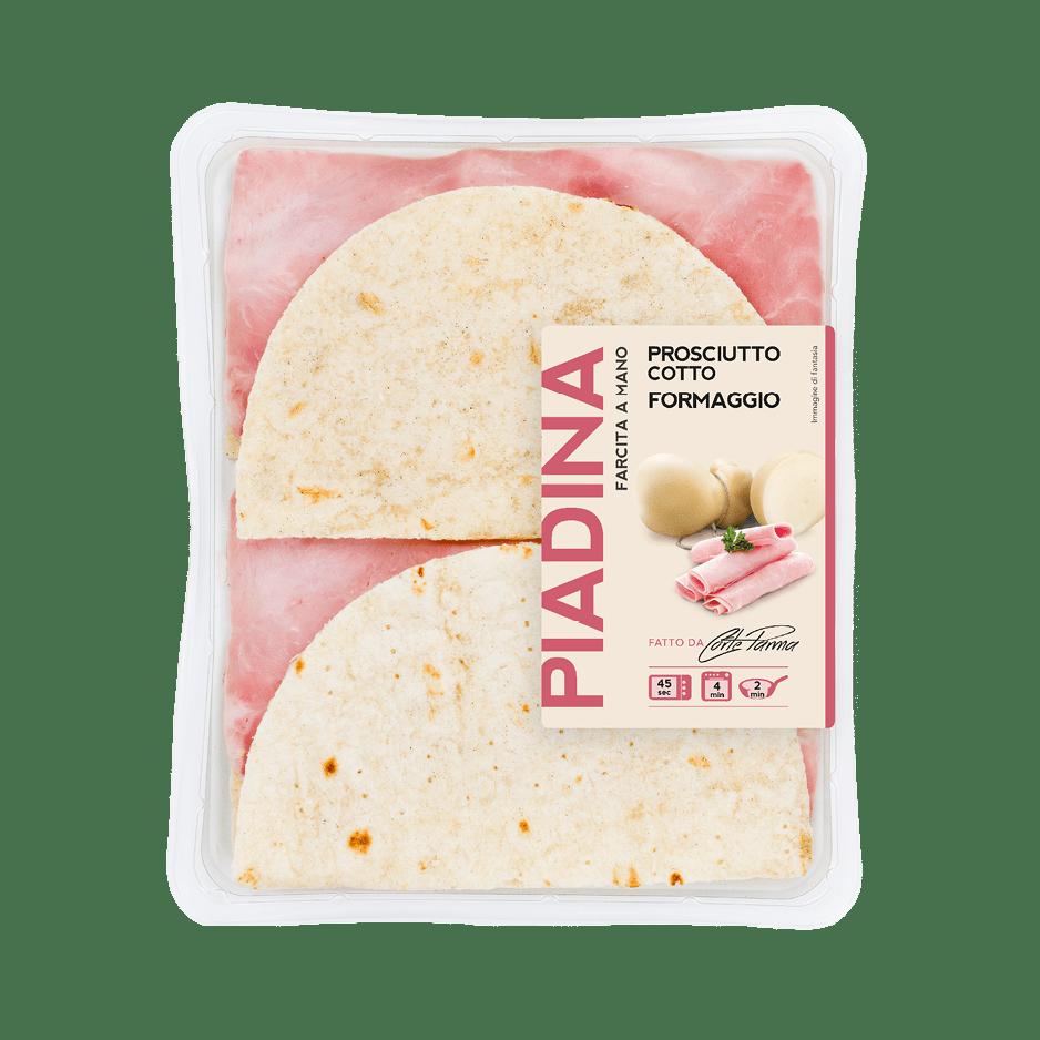 Piadina Cotto e Formaggio - CorteParma