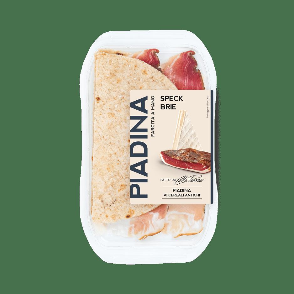 Piadine Speck e Brie - Corteparma