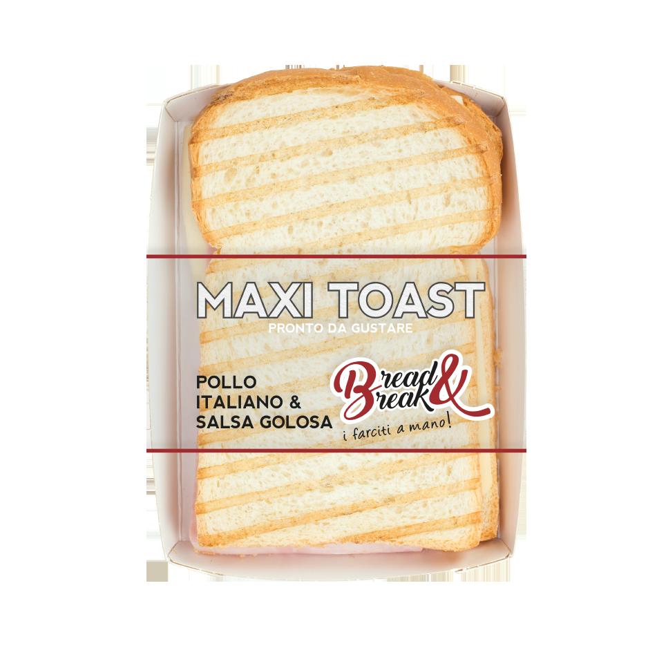 MaxiToast al Pollo e Salsa Golosa - Corteparma